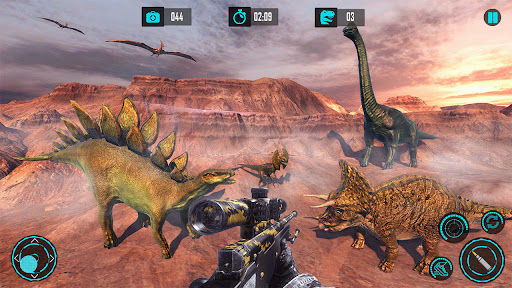 Real Dino Hunting 2018: Carnivores Dino Zoo Game apkdebit screenshots 7
