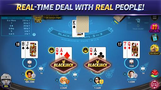 Blackjack 21: House of Blackjack 1.7.5 screenshots 1