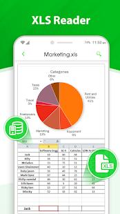 Office Suite: All Doc Reader XLS, PPT, DOC & PDF