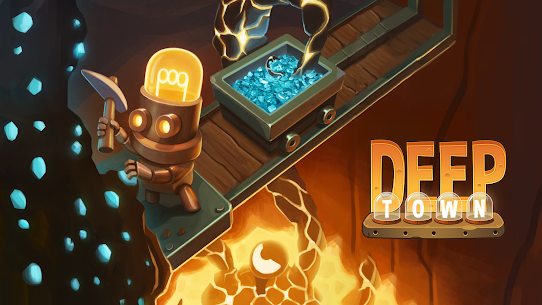 Deep Town  Mining Factory – Idle Tycoon Apk Download 2021 1