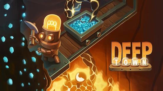 Deep Town : Entreprise minière screenshots apk mod 1