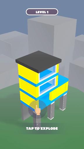 Tap Tap Blow: Building Demolition screenshots 6