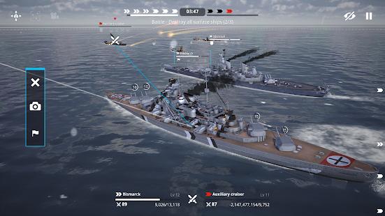 Warship Fleet Command : WW2 Naval War Game 2.01803 Screenshots 6