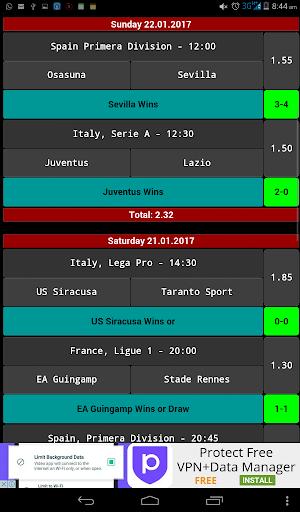daily betting tips - 2 odds screenshot 2