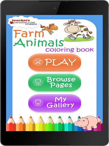 Farm Animals Coloring Book 9 screenshots 9