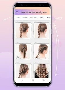 Hairstyles step by step 2