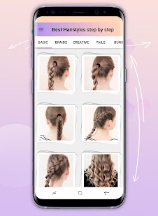 Hairstyles step by step 1.24.1.0 Screenshots 2