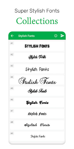 Stylish Fonts & Keyboard  screenshots 2