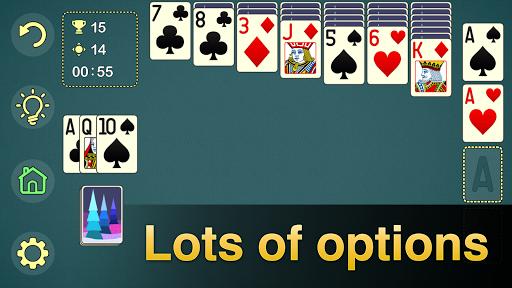 Solitaire Klondike - classic offline card game Apkfinish screenshots 7