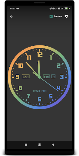 Analog Clock Live Wallpaper 1.16 screenshots 2