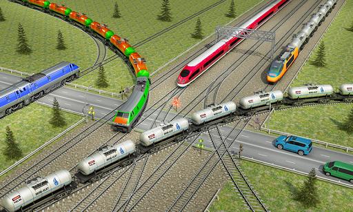 Indian Train City Pro Driving- Oil Tanker Train 8 screenshots 1