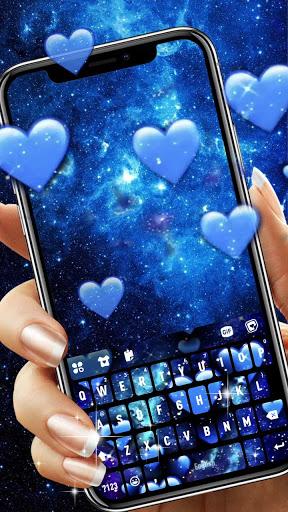 Blue Hearts Live Keyboard Background hack tool