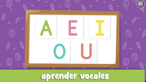 Aprender las vocales para niu00f1os de 3 a 5 au00f1os screenshots 3