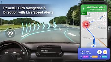 GPS Speedometer : Sound meter & Speed Tracking App
