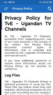 TvE - Ugandan TV Channels