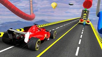 Formula Racing Games Stunt Driving Car Games 2021