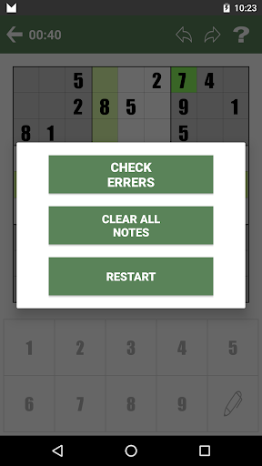 Free Sudoku screenshots 5
