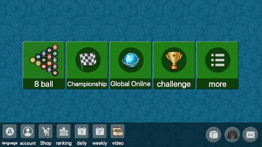 8 ball billiards Offline / Online pool free game 80.75 screenshots 1