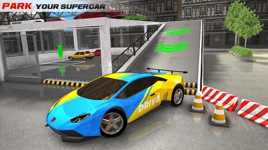 Modern Car Parking 3D & Driving Games - Car Games Screenshot