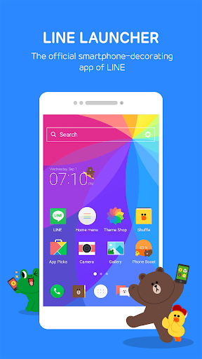 LINE Launcher 2.4.37 Screenshots 2