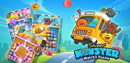 Sweet Monsteru2122 Friends Match 3 Puzzle | Swap Candy 1.3.2 screenshots 8