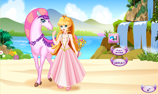 White Horse Princess Dress Up 5.0.640 screenshots 3