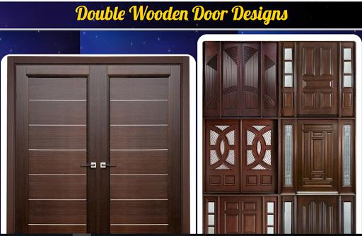 double wooden door design 1.0 Screenshots 1