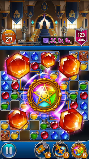 Jewel Royal Castle: Match3 puzzle 1.9.0 screenshots 4