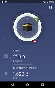 iPray: Prayer Times, Azan & Qibla. FREE & No Ads Screenshot