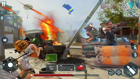 Gun Shoot War: Squad Free Fire 3D Battlegrounds 1.4 Screenshots 2