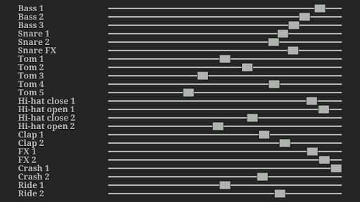 Electronic drum kit apkdebit screenshots 15