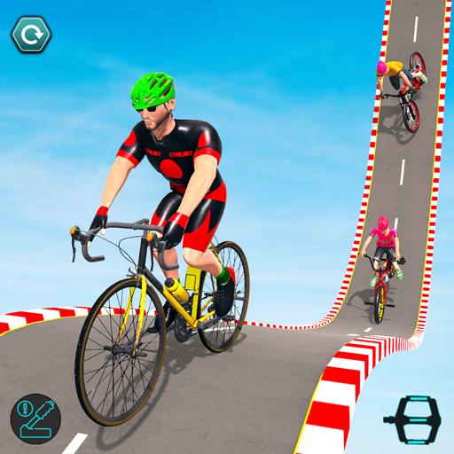 Aksi Sepeda BMX: Balap Sepeda