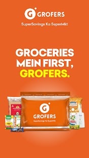 Grofers-grocery delivered safely with SuperSavings Screenshot