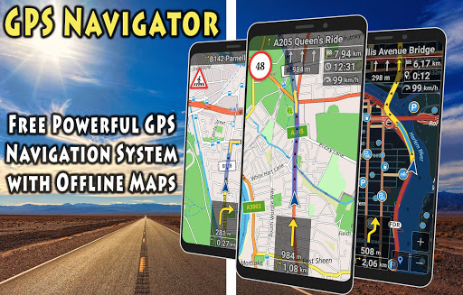 GPS Navigator with Offline Maps 2.6 Screenshots 1