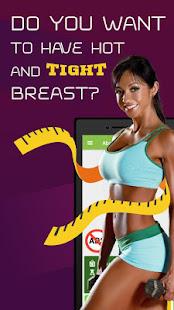 Beautiful breast workout for women 1.3.6 Screenshots 17