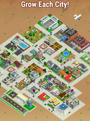 Bit City - Build a pocket sized Tiny Town APK MOD – Pièces Illimitées (Astuce) screenshots hack proof 2