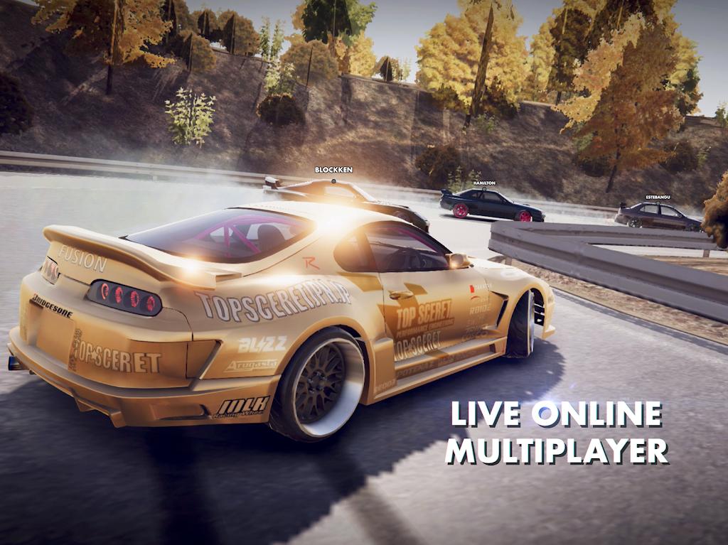 Hashiriya Drifter Online Drift Racing Multiplayer MOD poster 11