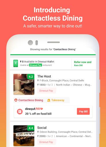 Dineout:Find Restaurants, Deals & Assured Cashback 9.9.5 screenshots 1
