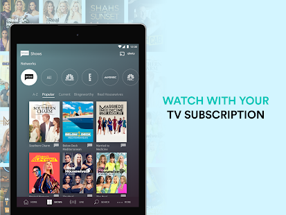 Bravo: Stream TV - Watch TV Series & Live Stream Screenshot
