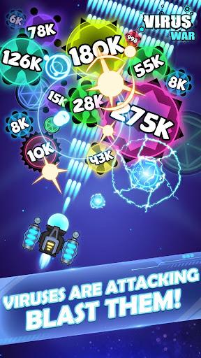 Virus War - Space Shooting Game 1.8.4 screenshots 1