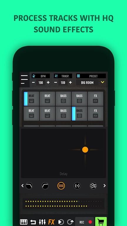 MixPads - Drum pad machine & DJ Audio Mixer  poster 3