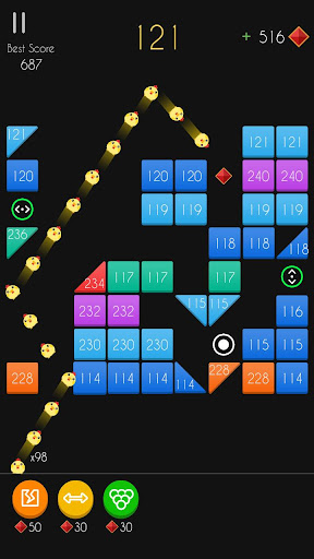 Balls Bricks Breaker 2 - Puzzle Challenge modavailable screenshots 7
