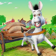 Donkey Life Simulator Games: Farm Fun Adventure