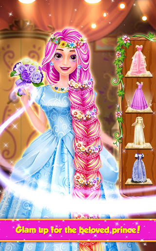 Long Hair Princess Hair Salon 1.8 screenshots 10