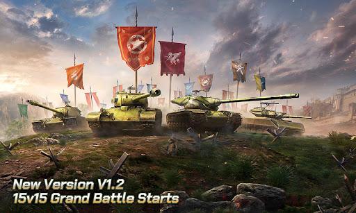 Tank Legion PvP MMO 3D tank game for free  screenshots 1