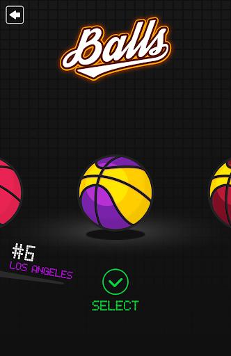 Dunkz ud83cudfc0ud83dudd25  - Shoot hoop & slam dunk screenshots apkspray 13