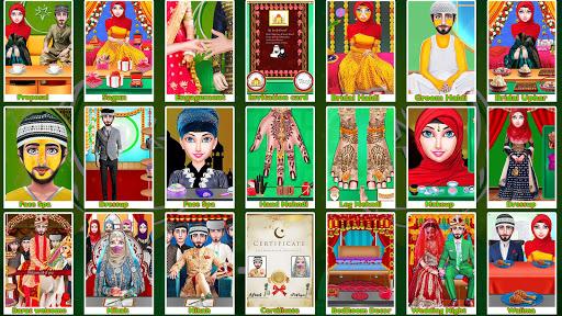 Pakistani Wedding - Muslim Hijab Wedding Honeymoon 1.0.6 screenshots 2