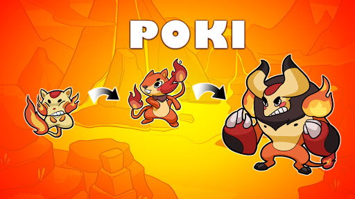 Poki Evolution: Hidden planet - Idle Merge Mania 1.3.2 screenshots 1