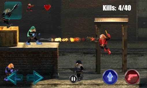 Killer Bean Unleashed MOD APK (Unlimited Ammo) 2