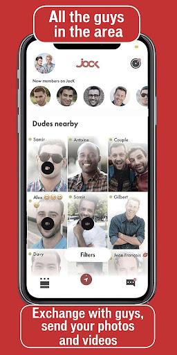 JocK - Gay video dating and gay video chat  Screenshots 2